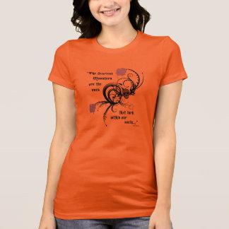 恐いゴシック様式エドガーアレンPoeの引用文のワイシャツ Tシャツ