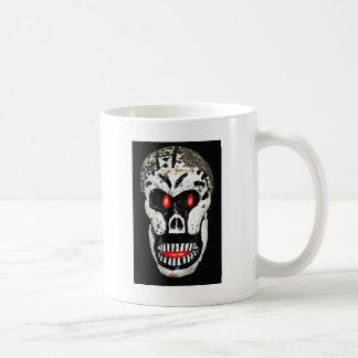 恐いスカル コーヒーマグカップ