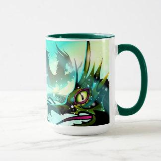 恐いドラゴンのマグ マグカップ