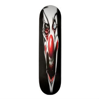 恐いピエロのスケートボード スケートボードデッキ