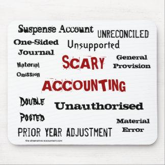 恐い会計-ユーモアのあるな恐怖ショー マウスパッド