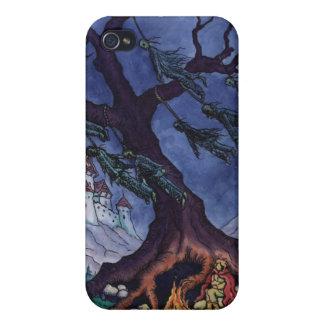 恐い物語のおとぎ話のイラストレーションのiPhoneの場合 iPhone 4/4S Case