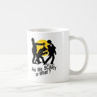 恐い私達はあります コーヒーマグカップ