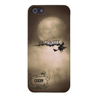 恐い魔法使いの幽霊の墓地のハッピーハローウィン iPhone 5 カバー