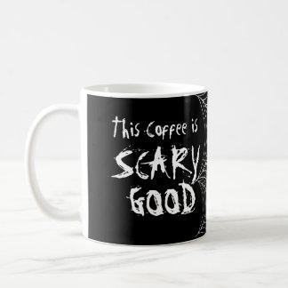 恐くよいSpiderwebのクモの巣のハロウィンのコーヒー・マグ コーヒーマグカップ
