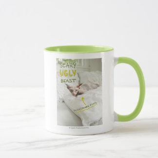 恐く醜い猫 マグカップ