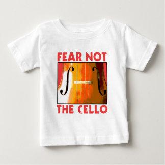 恐れないチェロ ベビーTシャツ