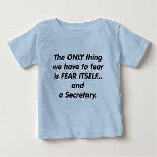 恐れの秘書 ベビーTシャツ