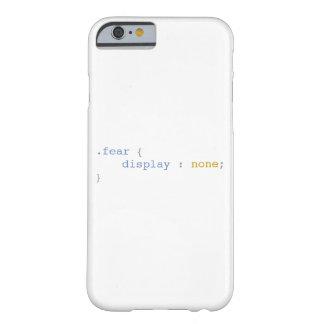恐れの表示どれもおもしろいなCSS BARELY THERE iPhone 6 ケース