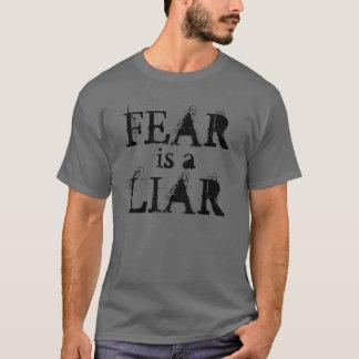 """""""恐れ嘘つき""""のTシャツです Tシャツ"""