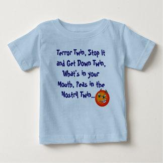 恐怖の双生児 ベビーTシャツ