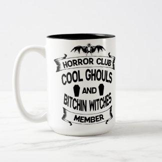 恐怖クラブ ツートーンマグカップ