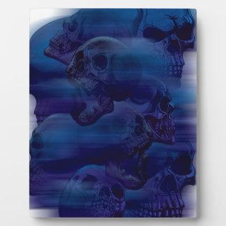 恐怖幽霊の骨組 フォトプラーク
