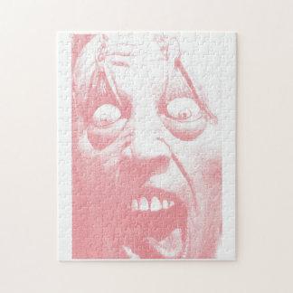 恐怖顔のハロウィンのパズル ジグソーパズル