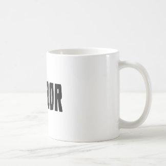 恐怖 コーヒーマグカップ