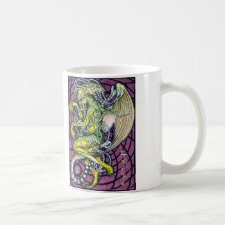 恐怖Cthulhuのマグ コーヒーマグカップ