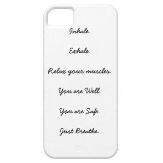 恐慌発作の指示のiPhone 5の場合 iPhone SE/5/5s ケース