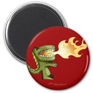 恐竜かドラゴンはLostonウォーレスとの芸術をからかいます マグネット