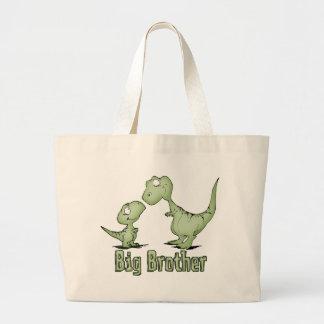 恐竜のお兄さん ラージトートバッグ