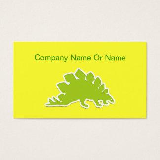 恐竜のシルエットの名刺 名刺