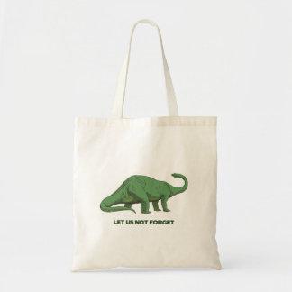 恐竜のバッグ トートバッグ