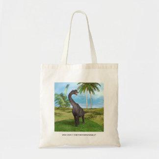 恐竜のブラキオサウルス トートバッグ