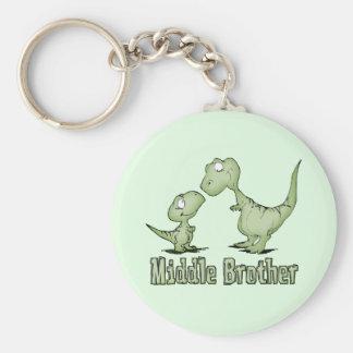 恐竜の中間の兄弟 キーホルダー