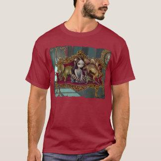 恐竜の友人1枚のゴシック様式ロココ様式の無教養なワイシャツ Tシャツ