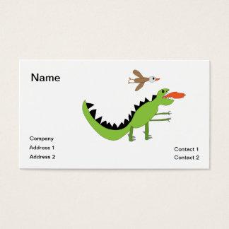 恐竜の友人 名刺