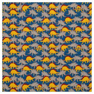 恐竜の多く ファブリック