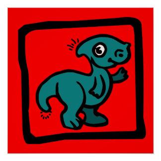 恐竜の子供ポスター ポスター