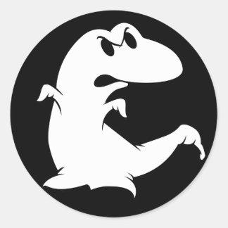 恐竜の幽霊 ラウンドシール