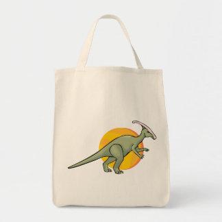 恐竜の恐竜のジュラ紀のReptiliaの芸術動物 トートバッグ