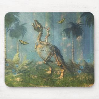 恐竜の戦士のmousepad マウスパッド