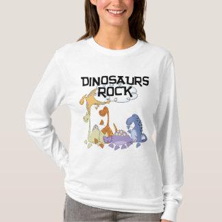 恐竜の石のTシャツおよびギフト Tシャツ