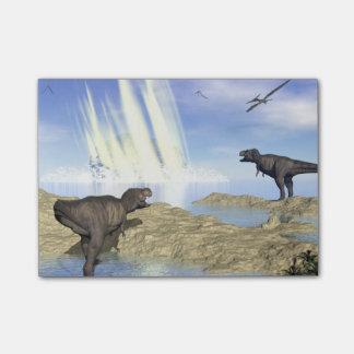 恐竜の端 ポストイット