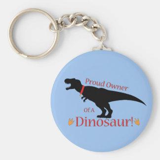 恐竜の誇りを持ったな所有者 キーホルダー
