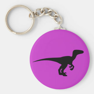 恐竜の輪郭のジュラ紀時代 キーホルダー