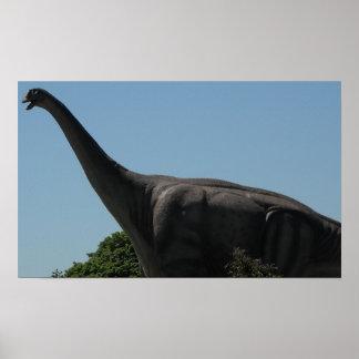 恐竜のBrontosaurus ポスター
