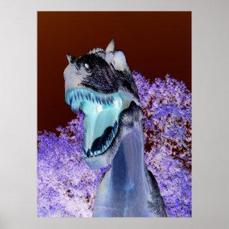 恐竜のTレックス ポスター