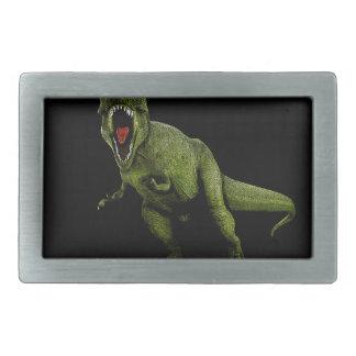 恐竜のTレックス 長方形ベルトバックル