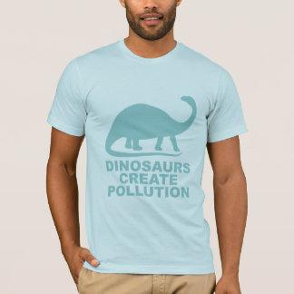 恐竜は汚染を作成します Tシャツ