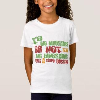 恐竜を掘るため Tシャツ