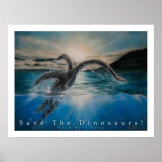 恐竜を救って下さい ポスター