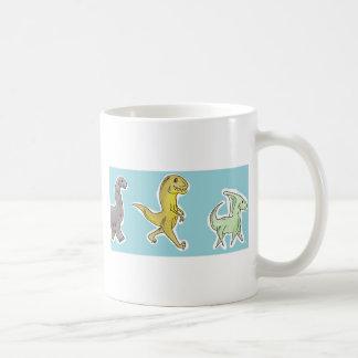 恐竜パレード コーヒーマグカップ