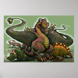 恐竜ポスター ポスター