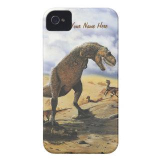 恐竜家族iPhone-Barelyそこに Case-Mate iPhone 4 ケース