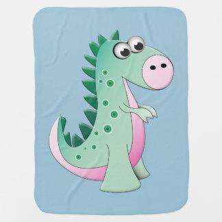 恐竜毛布 ベビー ブランケット