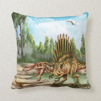 恐竜種の装飾用クッション クッション