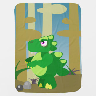 恐竜 ベビー ブランケット